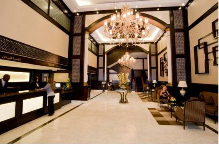 Hotel carlton tower  dubai  hall slideshow