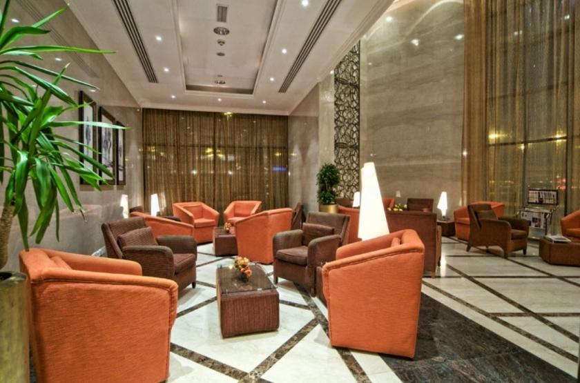 Hotel city seasons dubai emirats arabes hall slideshow