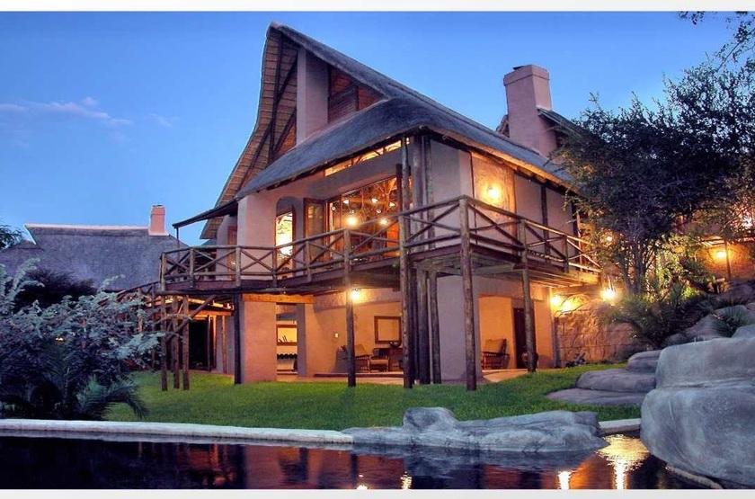 Lukimbi Safari Lodge, Park Kruger, Afrique du Sud, extérieur