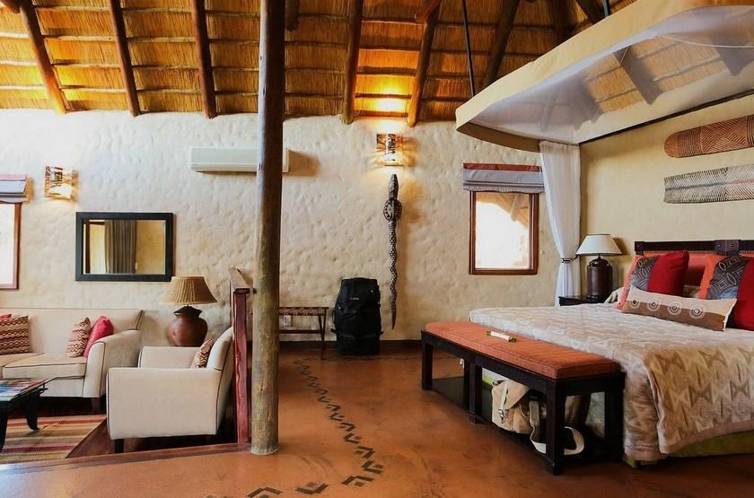 Lukimbi Safari Lodge, Park Kruger, Afrique du Sud, suite
