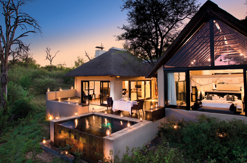 Lion Sands Ivory Lodge, Sabi Sand, Afrique du Sud, chalet