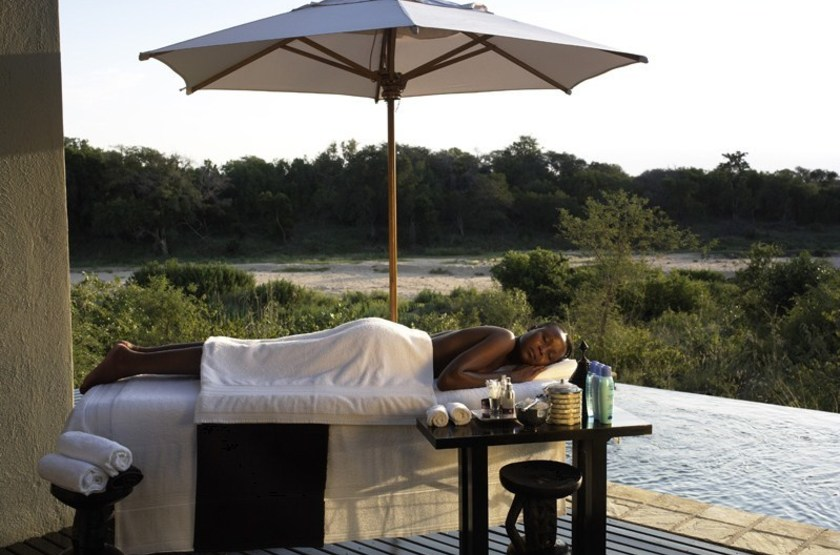 Lion Sands Ivory Lodge, Sabi Sand, Afrique du Sud, Spa