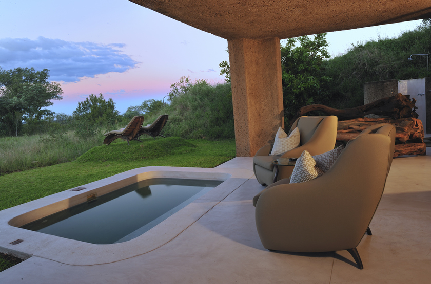 Sabi Sabi Earth Lodge, Sabi Sand Reserve, Afrique du Sud, suite