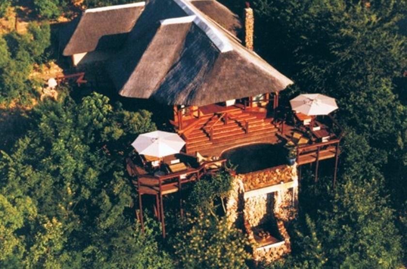 Tanamera Lodge, Hazyview, Afrique du Sud, vue d'ensemble