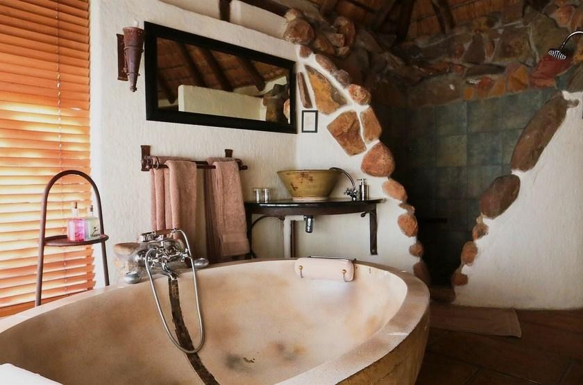 Tanamera Lodge, Hazyview, Afrique du Sud, salle de bain