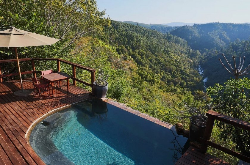 Tanamera Lodge, Hazyview, Afrique du Sud, piscine
