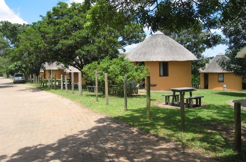 Hilltop Camp Hluhluwe, Afrique du Sud, chalets