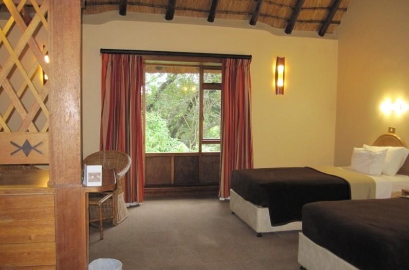 Hilltop Camp Hluhluwe, Afrique du Sud, chambre