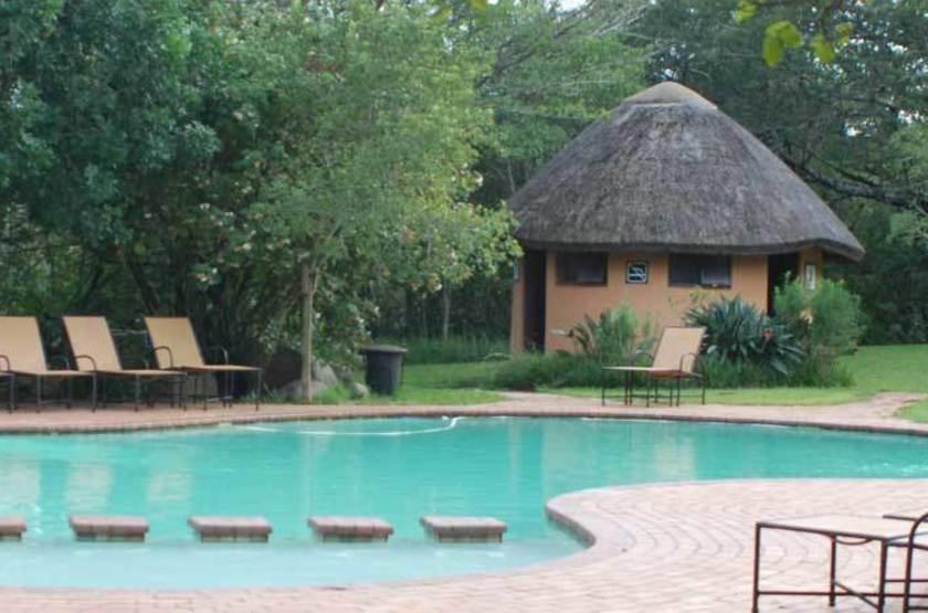Hilltop Camp Hluhluwe, Afrique du Sud, piscine
