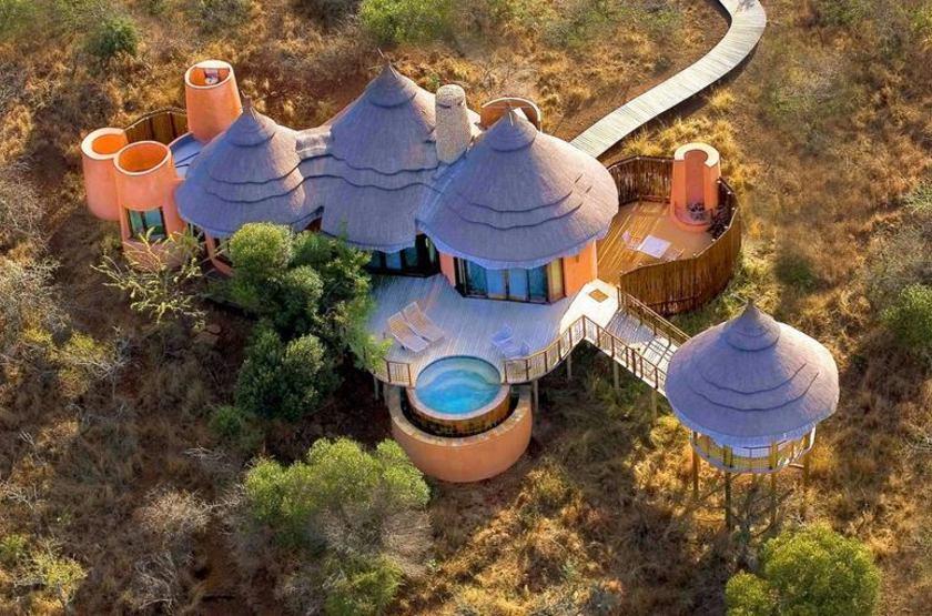 Thanda Safari Lodge, Hluhluwe, Afrique du Sud, extérieur