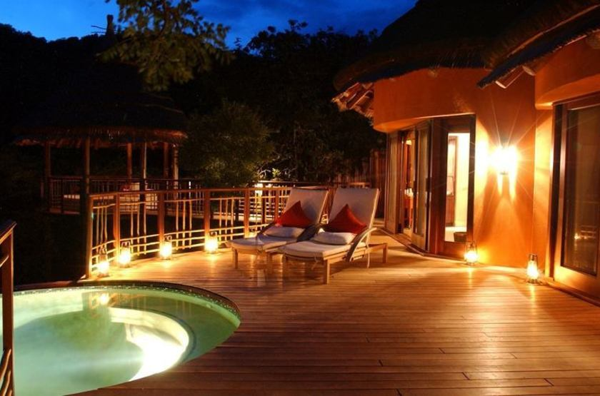 Thanda Safari Lodge, Hluhluwe, Afrique du Sud, piscine