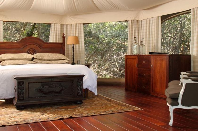 Thanda Safari Lodge, Hluhluwe, Afrique du Sud, Thanda Camp, chambre