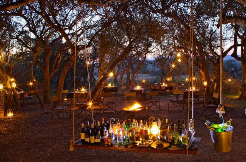Phinda Rock Lodge, Afrique du Sud, boma