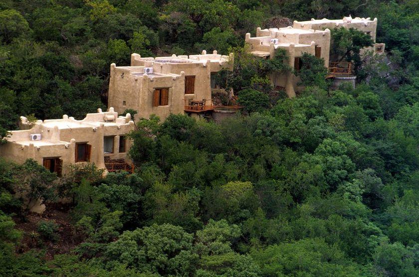 Phinda Rock Lodge, Afrique du Sud, extérieur