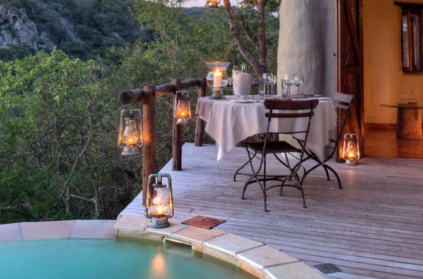 Phinda Rock Lodge, Afrique du Sud, piscine
