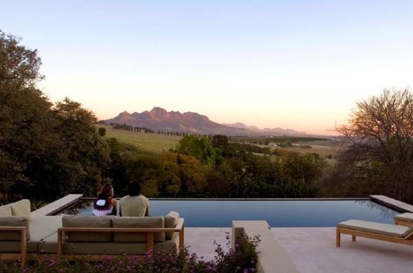 Sugarbird Manor, Stellenbosch, Afrique du Sud, piscine