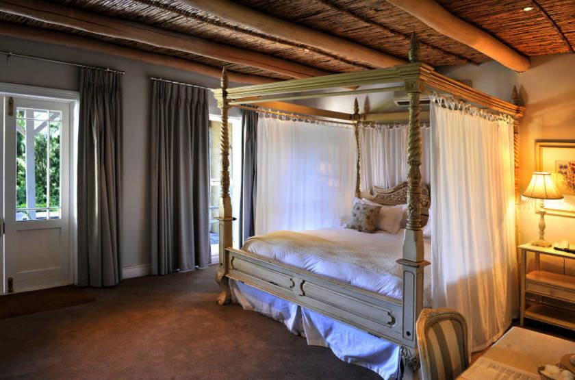 La Petite Ferme, Franschhoek, Afrique du Sud, chambre