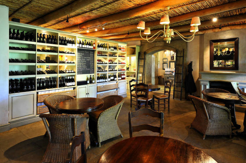La Petite Ferme, Franschhoek, Afrique du Sud, restaurant