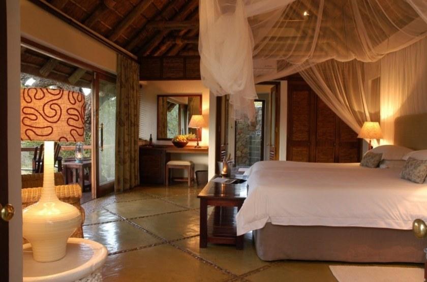 Serondella Lodge, Thornybush, Afrique du Sud, chambre