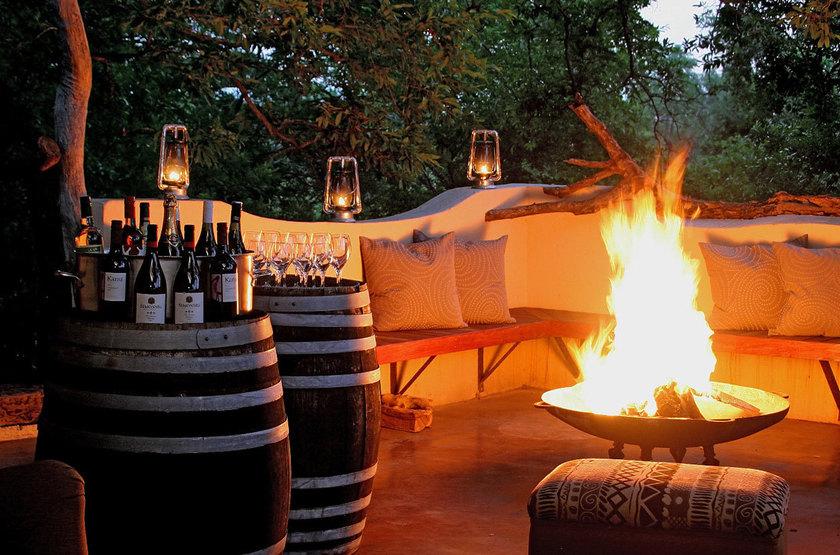 Jock Safari Lodge, Réserve privée Kruger, Afrique du Sud, bar