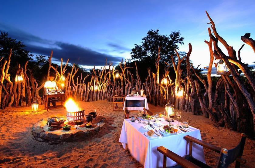 Jock Safari Lodge, Réserve privée Kruger, Afrique du Sud, boma