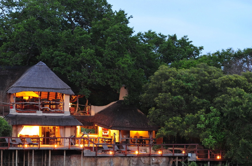 Jock Safari Lodge, Réserve privée Kruger, Afrique du Sud, extérieur