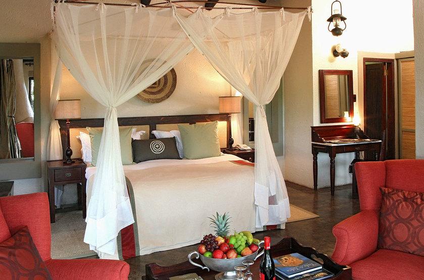 Jock Safari Lodge, Réserve privée Kruger, Afrique du Sud, chambre