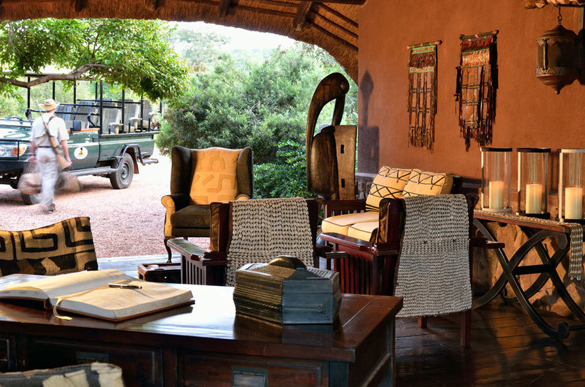 Makweti Game Lodge, Welgevonden, Afrique du Sud, salon