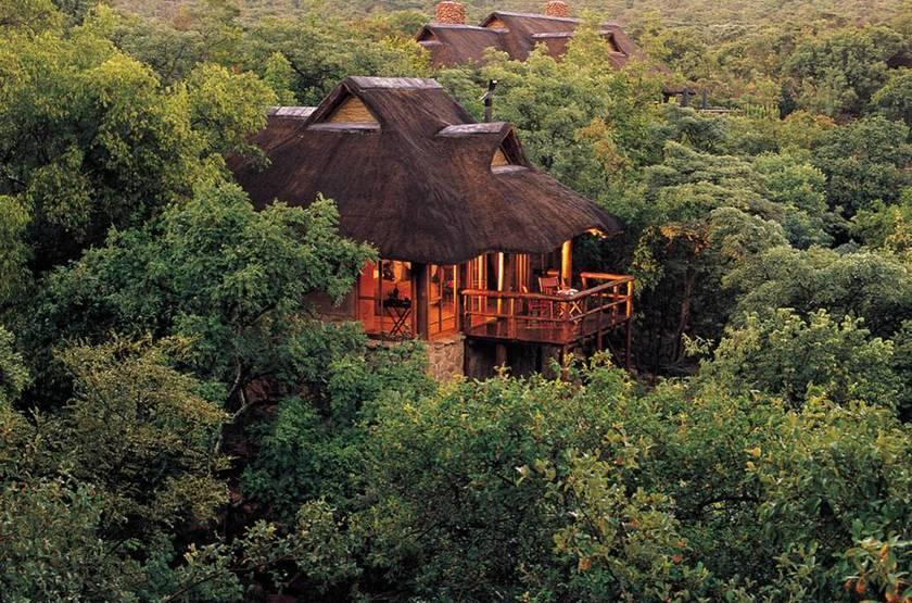 Makweti Game Lodge, Welgevonden, Afrique du Sud, extérieur