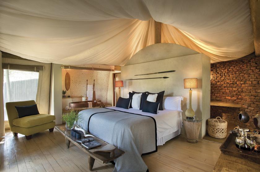Marataba Safari Lodge, Marakele, Afrique du Sud, chambre