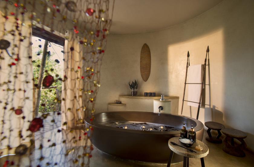 Marataba Safari Lodge, Marakele, Afrique du Sud, salle de bains