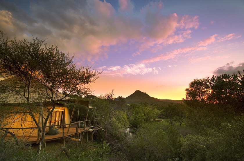 Marataba Safari Lodge, Marakele, Afrique du Sud, tente