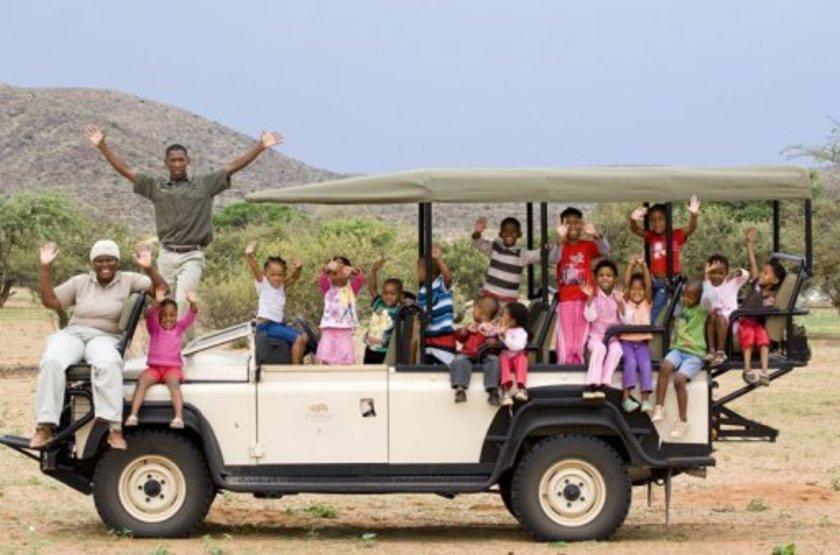 The Mtose Kalahari & Tarkuni, Tswalu, Afrique du Sud, safari en 4x4