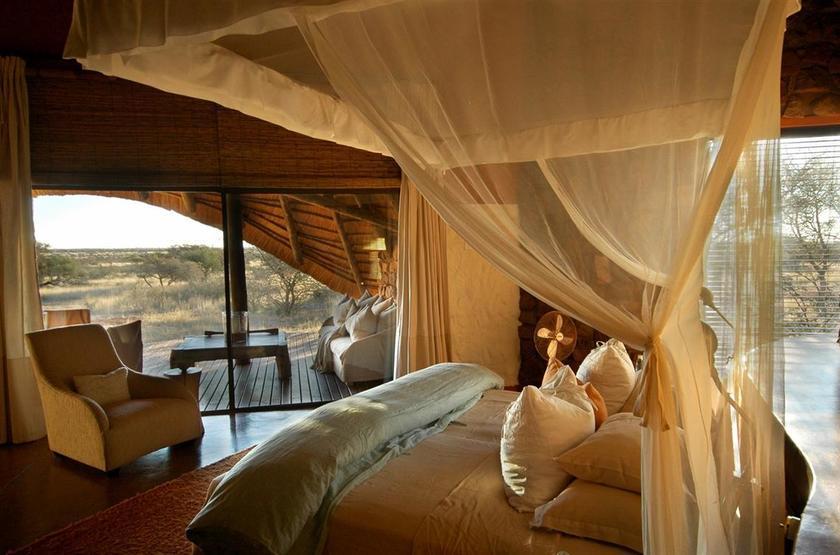 The Mtose Kalahari & Tarkuni, Tswalu, Afrique du Sud, chambre