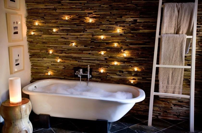The Mtose Kalahari & Tarkuni, Tswalu, Afrique du Sud, salle de bains