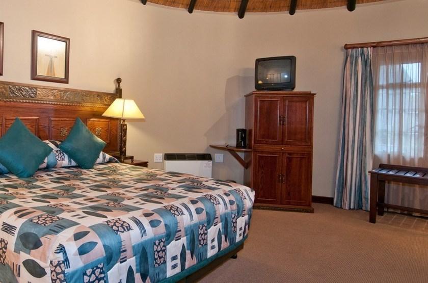 Cathedral Peak Hotel, Drakensberg, Afrique du Sud, chambre