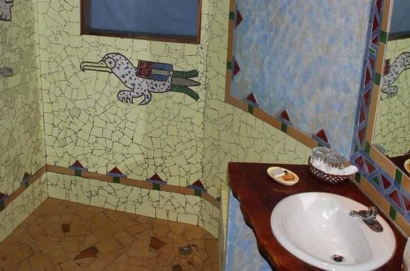 Shawandha Lodge, Puerto Viejo, Costa Rica, salle de bains