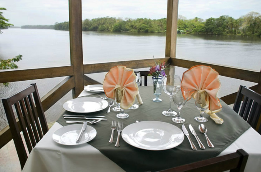 Manatus Lodge, Tortuguero, Costa Rica, restaurant