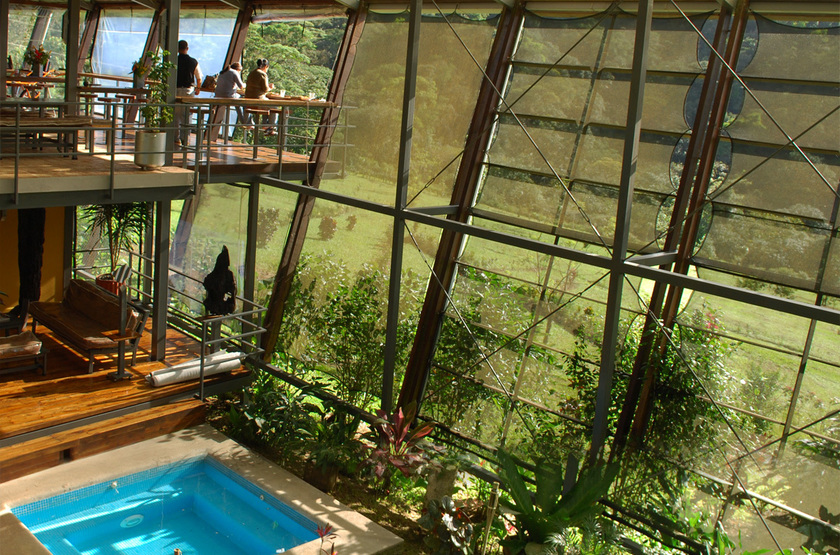 Celeste Mountain Lodge, Volcan Tenorio, Costa Rica, piscine