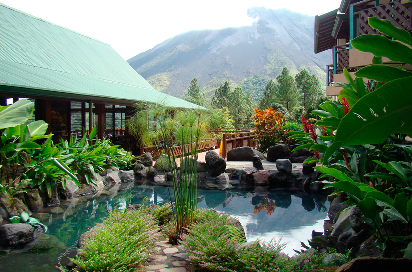 Arenal Observatory Lodge, Costa Rica, piscine