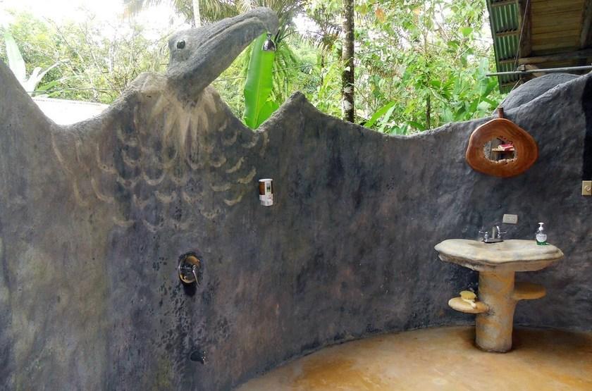 Danta Corcovado Lodge, Péninsule d'Osa, Costa Rica, salle de bain