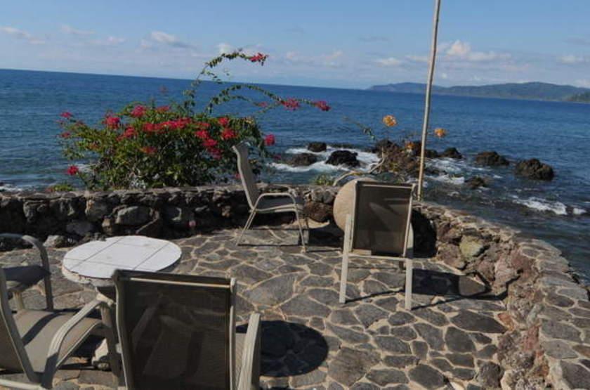 Drake Bay Wilderness Resort, Costa Rica, terrasse
