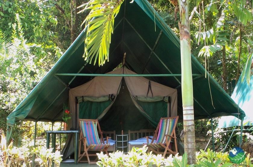 Corcovado Adventure Tent, Drake Bay, Costa Rica, tente