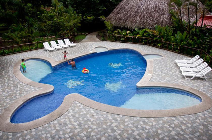 Turtle Beach Lodge, Tortuguero, Costa Rica, piscine