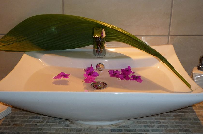 Tacacori Eco Lodge, Alajuela, Costa Rica, salle de bains