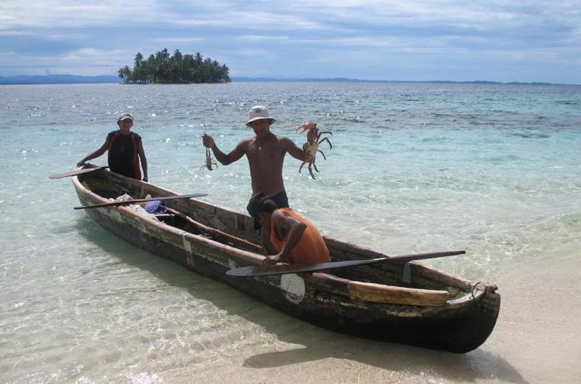 Yandup Island Lodge, Panama, pêcheur