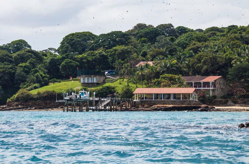Perla Real Inn, Ile de Contadora, Panama, emplacement