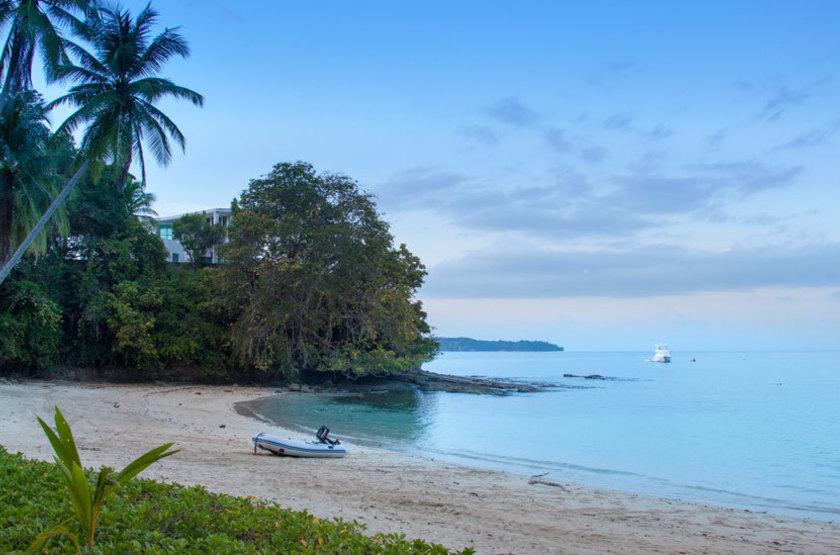 Perla Real Inn, Ile de Contadora, Panama, plage