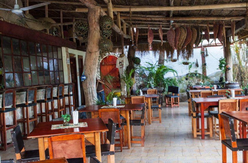 Perla Real Inn, Ile de Contadora, Panama, restaurant