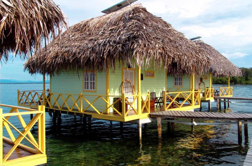 Punta Caracol, Bocas del Toro, Panama, cabanas